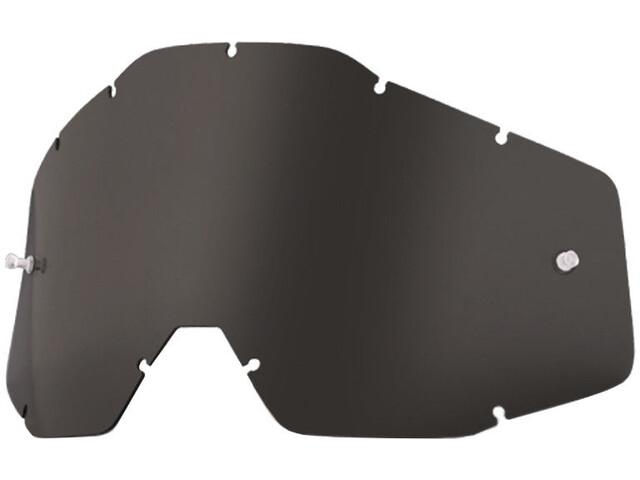 100% Wechselglas dark smoke-clear